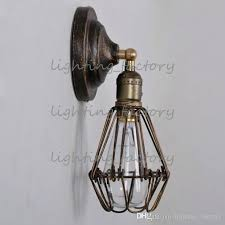 industrial cage light brushed nickel wire pendant cage pendant light kmart
