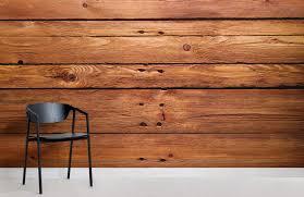 wood cabin wallpaper mural