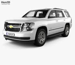 Chevrolet Tahoe LT 2014 3D model - Hum3D