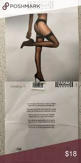 Wolford Nwt Individual 10 Cosmetic Stocking Med Wolford