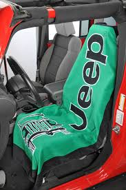 insync jeep logo towel 2 go seat cover previous next
