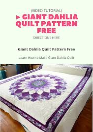 Today, we're going to teach you how to make a Giant Dahlia Quilt ... & Today, we're going to teach you how to make a Giant Dahlia Quilt Adamdwight.com
