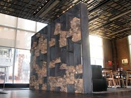 Furniture, Large Wood Indoor Firewood Rack Painted With Black Color As Room  Divider Between Dining And Living Room Ideas ~ Indoor Firewood Rack
