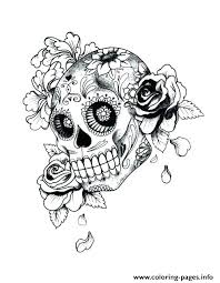 Printable Skull Coloring Pages Printable Skulls Coloring Pages For