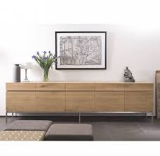 Furniture: Beautiful Profile Modern Sideboard For Living Room  Throughout Contemporary  Sideboards (View 9