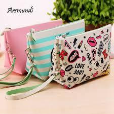 <b>Arsmundi</b> New <b>Women</b> Letter Fashion Cosmetic Bag Beauty ...