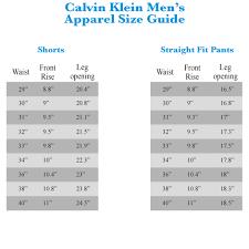 Calvin Klein Size Chart Mens Calvin Klein Size Chart Us Www Bedowntowndaytona Com