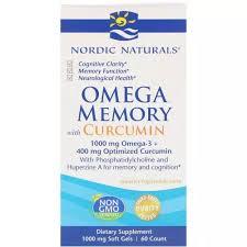 Nordic Naturals <b>Memory Omega Curcumin</b>