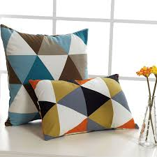 Small Picture Aliexpresscom Buy European Grid Cushions Fashion Home