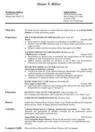 Good resume, Resume objective and Resume on Pinterest Objective On A Resume For Internship