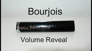 <b>Bourjois</b> Mascara <b>Volume Reveal</b> - YouTube
