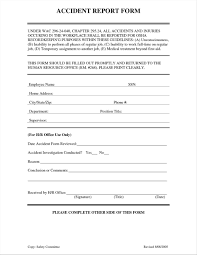 Free Printable Incident Reports Eviction Notice Sample Letters