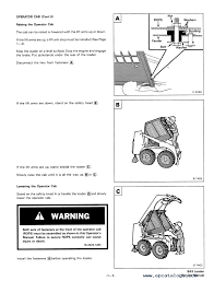 bobcat 843 and 843b skid steer loaders service manual pdf repair enlarge