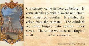 Gk Chesterton Quotes Best Daily Virtue Quote GK Chesterton Eucharistic Virtue
