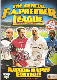 The Official F.A.Premier League Sticker Collection Autograph Edition 2002:  Amazon.co.uk: Richard Scudamore: Books
