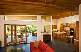 good folding patio doors family room with ceiling lighting clerestory dark with folding glass doors exterior