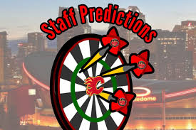 Staff Predictions Calgary Flames Vegas Golden Knights