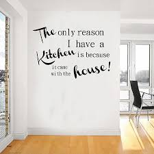 kitchen wall art stickers fresh decorative words for kitchen walls walls decor