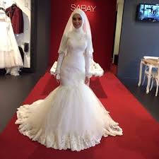 luxury muslim wedding dress 2017 new design custom made maxi dubai