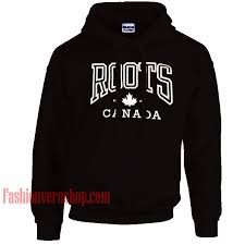Roots Canada Hoodie Unisex Adult Clothing