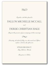 Invitations Formal Wedding Invitations Formal Attire Invitation