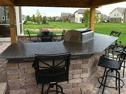 custom stone for outdoor living spaces