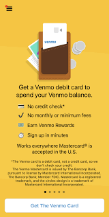 The website describes the proces. What You Need To Know About The Venmo Debit Card Creditcards Com
