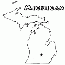 Small Picture Michigan State Coloring Pages