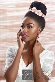 104 best natural hair brides images on pinterest big hair, curly Wedding Hair And Makeup For Black Women bridal beauty by joy adenuga on bellanaija 6