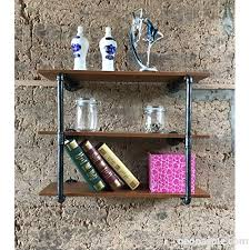 kaler decorative bookcase pipe wall