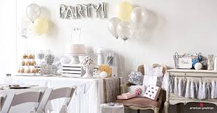 white birthday party ideas american