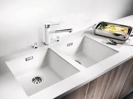 undermount white kitchen sink with regard to unique taste designs 8