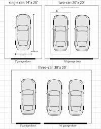 standard single car garage door size home desain 2018