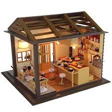 Image Micro Miniature Image Unavailable Amazoncom Amazoncom Flever Dollhouse Miniature Diy House Kit Creative Room