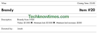 Silent Auction Bid Sheet Word Silent Auction Bid Sheet Template Microsoft Word