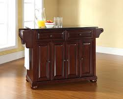 Granite Top Kitchen Trolley Granite Top Kitchen Island Wood Top Kitchen Island With Cabinet