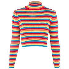 Huaxix Womens Autumn Long Sleeve Turtleneck <b>Sweater</b> Colorful ...