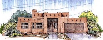 house plan 54678 southwest style with