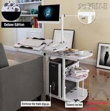 computer desktop furniture. sufeile 1pc hot sale hanging simple bedside desk lazy desktop computer fashional home office furniture
