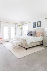 i wanted my master bedroom to feel like my own personal sanctuary and this beautiful white space was a labor of love for a solid year