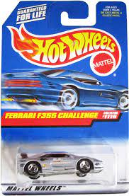 Released in 1999 as part of the 1999. Amazon Com Hot Wheels 1999 Ferrari F355 Challenge Gray Car Collector 1115 Toys Games