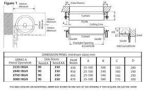gliderol roller door layout