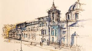 rough architectural sketches. Simple Rough Download The Brochure Architectural Sketching  For Rough Sketches E