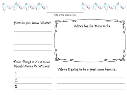 free baby book printables worksheet coloring pages baby shower guest