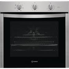 indesit aria dfw 5530 ix uk electric single built in oven in stainless steel