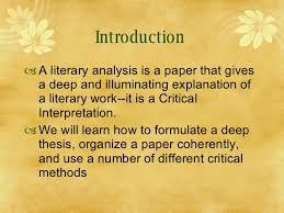 writing a literary analysis  23
