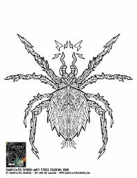 Small Picture Coloring Pages Free Page For Kids And All Ages Coloring Spider