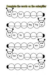 Specifically, to help support your teaching as you follow jolly phonics 1: Phonics Caterpillar Esl Worksheet By Fleur