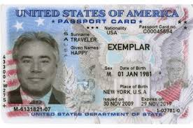 Us Passport Card Template Transportation Company Obligations Guide For Transporters