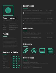 16 Free Tools To Create Outstanding Visual Resume With Regard To